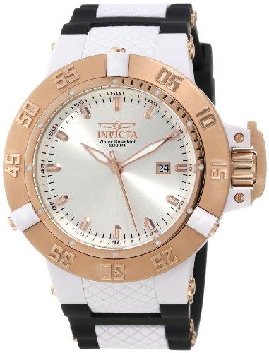 """インヴィクタ インビクタ サブアクア 腕時計 メンズ 10117 【送料無料】Invicta Men""""s 10117 Subaqua Noma III Silver White Sunray Dial Watchインヴィクタ インビクタ サブアクア 腕時計 メンズ 10117"""