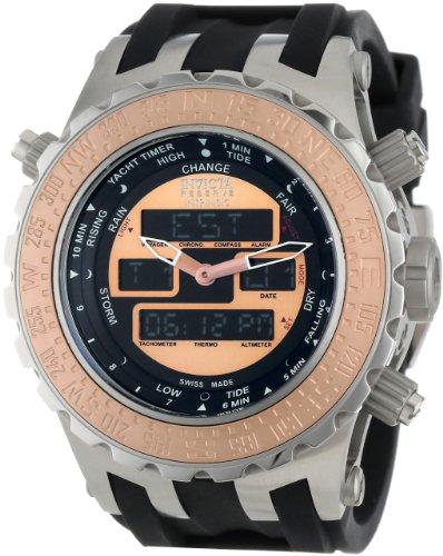 インヴィクタ インビクタ サブアクア 腕時計 メンズ 12590 Invicta Men's 12590 Subaqua Analog-Digital Swiss-Quartz Black Watchインヴィクタ インビクタ サブアクア 腕時計 メンズ 12590