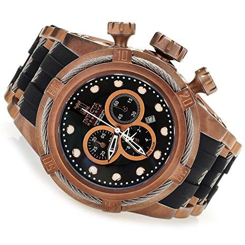 インヴィクタ インビクタ リザーブ 腕時計 メンズ 17839 【送料無料】Invicta Men's 17839 Jason Taylor Rose Gold Plated Swiss Chronograph Strap Watchインヴィクタ インビクタ リザーブ 腕時計 メンズ 17839