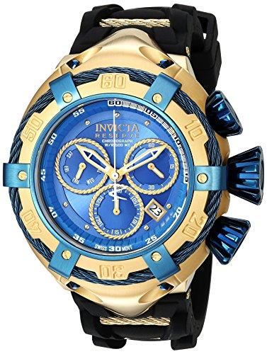 インヴィクタ インビクタ ボルト 腕時計 メンズ 21354 【送料無料】Invicta Men's Bolt Stainless Steel Quartz Watch with Silicone Strap, Black, 28 (Model: 21354)インヴィクタ インビクタ ボルト 腕時計 メンズ 21354