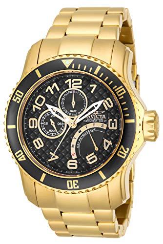インヴィクタ インビクタ プロダイバー 腕時計 メンズ 15341 【送料無料】Invicta Men's 15341 Pro Diver 18k Gold-Plated Stainless Steel Watchインヴィクタ インビクタ プロダイバー 腕時計 メンズ 15341