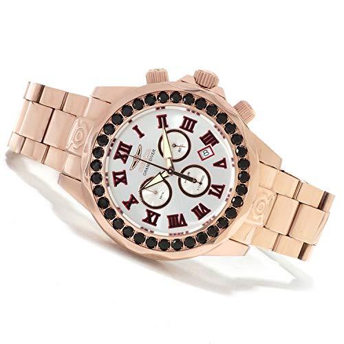 インヴィクタ インビクタ プロダイバー 腕時計 メンズ 14537 【送料無料】Invicta Mens Pro Grand Diver Limited Swiss Black Spinel Accent 18 Rose Gold Bracelet Watch 14537インヴィクタ インビクタ プロダイバー 腕時計 メンズ 14537