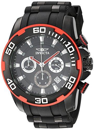 腕時計 インヴィクタ インビクタ プロダイバー メンズ 22310 【送料無料】Invicta Men's Pro Diver Stainless Steel Quartz Watch with Silicone Strap, Black, 26 (Model: 22310)腕時計 インヴィクタ インビクタ プロダイバー メンズ 22310