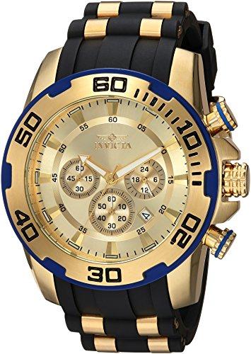 インヴィクタ インビクタ プロダイバー 腕時計 メンズ 22345 Invicta Men's Pro Diver Stainless Steel Quartz Watch with Silicone Strap, Black, 25 (Model: 22345)インヴィクタ インビクタ プロダイバー 腕時計 メンズ 22345