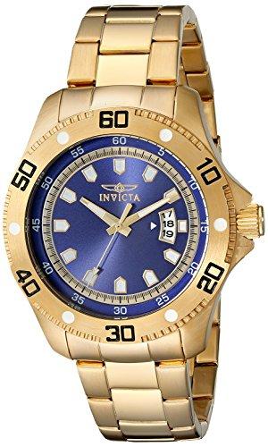 インヴィクタ インビクタ プロダイバー 腕時計 メンズ 19266 Invicta Men's 19266 Pro Diver Analog Display Japanese Quartz Gold Watchインヴィクタ インビクタ プロダイバー 腕時計 メンズ 19266