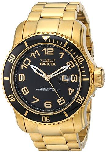 腕時計 インヴィクタ インビクタ プロダイバー メンズ 15346 【送料無料】Invicta Men's 15346 Pro Diver Analog Display Japanese Quartz Gold Watch腕時計 インヴィクタ インビクタ プロダイバー メンズ 15346