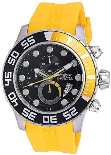 インヴィクタ インビクタ プロダイバー 腕時計 メンズ 19244 【送料無料】Invicta Men's 19244 Pro Diver Analog Display Japanese Quartz Yellow Watchインヴィクタ インビクタ プロダイバー 腕時計 メンズ 19244