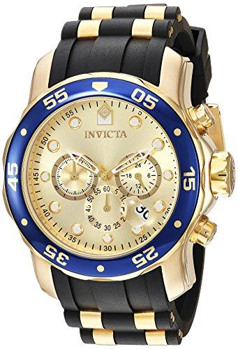 インヴィクタ インビクタ プロダイバー 腕時計 メンズ 17881 【送料無料】Invicta Men's Pro Diver Quartz Watch with Stainless-Steel Strap, Gold, 25 (Model: 17881)インヴィクタ インビクタ プロダイバー 腕時計 メンズ 17881