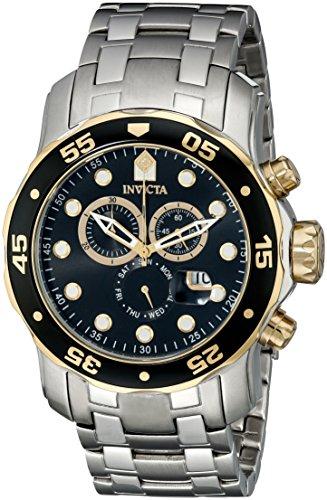 インヴィクタ インビクタ プロダイバー 腕時計 メンズ 80039 Invicta Mens Pro Diver Scuba Swiss Chronograph Black Dial Stainless Steel Bracelet Watch 80039インヴィクタ インビクタ プロダイバー 腕時計 メンズ 80039