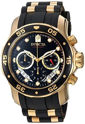 インヴィクタ インビクタ プロダイバー 腕時計 メンズ 21928 Invicta Men's Pro Diver Stainless Steel Quartz Watch with Silicone Strap, Two Tone, 26 (Model: 21928)インヴィクタ インビクタ プロダイバー 腕時計 メンズ 21928