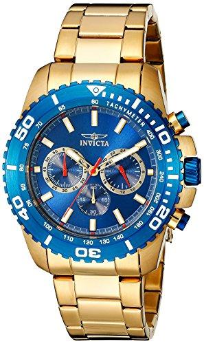 インヴィクタ インビクタ プロダイバー 腕時計 メンズ 19845 Invicta Men's 19845 Pro Diver Analog Display Japanese Quartz Gold Watchインヴィクタ インビクタ プロダイバー 腕時計 メンズ 19845