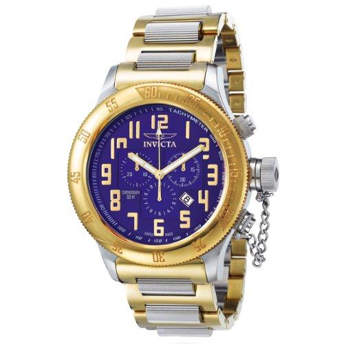 インヴィクタ インビクタ 腕時計 メンズ INVICTA-4160 【送料無料】Invicta Men's 4160 Russian Diver Collection Offshore Chronograph Two-Tone Watchインヴィクタ インビクタ 腕時計 メンズ INVICTA-4160