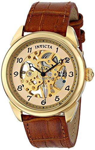 インヴィクタ インビクタ 腕時計 メンズ 17188 Invicta Men's 17188 Specialty Skeletonized Mechanical Hand-Wind Watch with Embossed-Leather Bandインヴィクタ インビクタ 腕時計 メンズ 17188