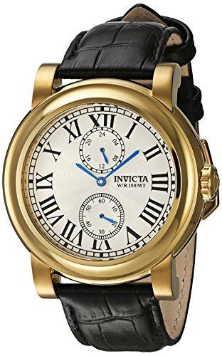 インヴィクタ インビクタ フォース 腕時計 メンズ 22256 【送料無料】Invicta Men's I-Force Black Leather Band Steel Case Quartz Silver-Tone Dial Analog Watch 22256インヴィクタ インビクタ フォース 腕時計 メンズ 22256