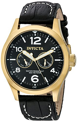 インヴィクタ インビクタ 腕時計 メンズ 10491 【送料無料】Invicta Men's 10491 Specialty Stainless Steel Watch with Leather Bandインヴィクタ インビクタ 腕時計 メンズ 10491