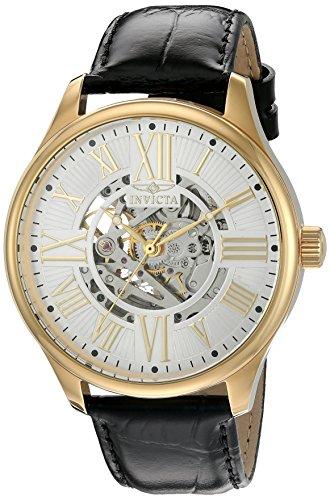 腕時計 インヴィクタ インビクタ メンズ 22568 【送料無料】Invicta Men's 'Vintage' Automatic Stainless Steel and Leather Casual Watch, Color:Black (Model: 22568)腕時計 インヴィクタ インビクタ メンズ 22568