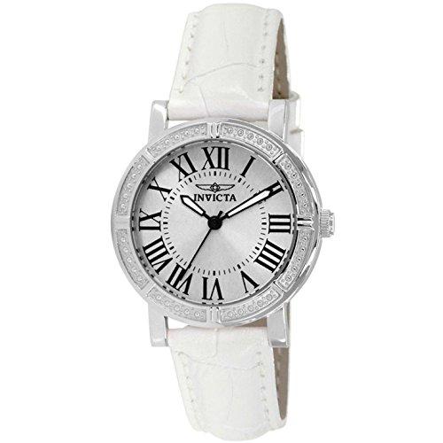 インヴィクタ インビクタ 腕時計 レディース 14891 Invicta Women's Japan Quartz Leather Watch, Color:White (Model: 14891)インヴィクタ インビクタ 腕時計 レディース 14891