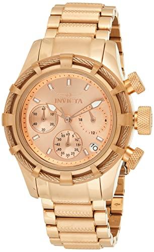 インヴィクタ インビクタ リザーブ 腕時計 レディース 12460 【送料無料】Invicta Women's 12460 Bolt Reserve Analog Swiss Quartz Rose Gold Ion-Plated Stainless Steel Watchインヴィクタ インビクタ リザーブ 腕時計 レディース 12460
