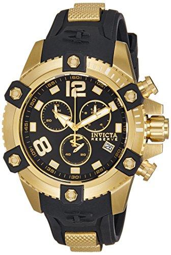 インヴィクタ インビクタ リザーブ 腕時計 メンズ 11172 【送料無料】Invicta Men's 11172 Arsenal Reserve Chronograph Black Dial Watchインヴィクタ インビクタ リザーブ 腕時計 メンズ 11172