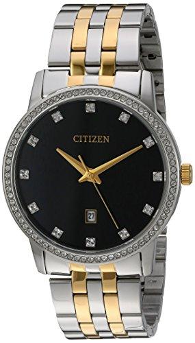 シチズン 逆輸入 海外モデル 海外限定 アメリカ直輸入 BI5034-51E Citizen Men's Quartz Stainless Steel Watch with Crystal Accents, BI5034-51Eシチズン 逆輸入 海外モデル 海外限定 アメリカ直輸入 BI5034-51E