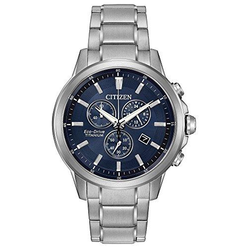 シチズン 逆輸入 海外モデル 海外限定 アメリカ直輸入 AT2340-56L 【送料無料】Citizen Eco-Drive Men's 'Titanium' Quartz Casual Watch, Color: Silver-Toned (Model: AT2340-56L)シチズン 逆輸入 海外モデル 海外限定 アメリカ直輸入 AT2340-56L