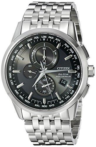 シチズン 逆輸入 海外モデル 海外限定 アメリカ直輸入 AT8110-53E 【送料無料】Citizen Men's Eco-Drive World Chronograph Atomic Timekeeping Watch with Perpetual Calendar, AT8110-53Eシチズン 逆輸入 海外モデル 海外限定 アメリカ直輸入 AT8110-53E
