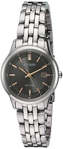 シチズン 逆輸入 海外モデル 海外限定 アメリカ直輸入 EW2400-58H 【送料無料】Citizen Women's 'Eco-Drive Bracelet' Quartz Stainless Steel Watch, Color:Silver-Toned (Model: EW2400-58H)シチズン 逆輸入 海外モデル 海外限定 アメリカ直輸入 EW2400-58H