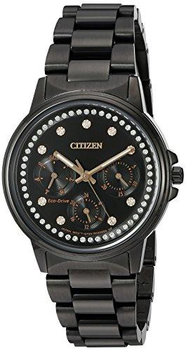 シチズン 逆輸入 海外モデル 海外限定 アメリカ直輸入 FD2047-58E 【送料無料】Citizen Women's Silhouette Japanese-Quartz Watch with Stainless-Steel Strap, Black, 20 (Model: FD2047-58E)シチズン 逆輸入 海外モデル 海外限定 アメリカ直輸入 FD2047-58E