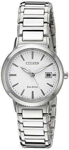 シチズン 逆輸入 海外モデル 海外限定 アメリカ直輸入 EW2370-57A Citizen Eco-Drive Women's 'Sport' Quartz Stainless Steel Casual Watch, Color: Silver-Toned (Model: EW2370-57A)シチズン 逆輸入 海外モデル 海外限定 アメリカ直輸入 EW2370-57A