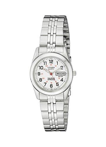 シチズン 逆輸入 海外モデル 海外限定 アメリカ直輸入 EQ0510-58A Citizen Women's Quartz Stainless Steel Watch with Day/Date, EQ0510-58Aシチズン 逆輸入 海外モデル 海外限定 アメリカ直輸入 EQ0510-58A