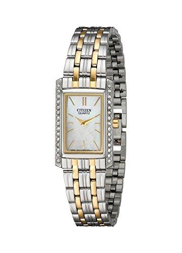 シチズン 逆輸入 海外モデル 海外限定 アメリカ直輸入 EK1124-54D Citizen Women's Quartz Watch with Crystal Accents, EK1124-54Dシチズン 逆輸入 海外モデル 海外限定 アメリカ直輸入 EK1124-54D