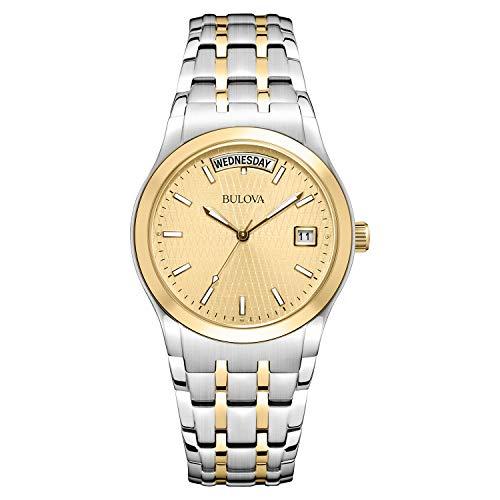 ブローバ 腕時計 メンズ 98C60 【送料無料】Bulova Men's 98C60 Two-Tone Bracelet Watchブローバ 腕時計 メンズ 98C60