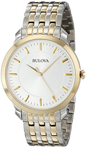 ブローバ 腕時計 メンズ 98A121 【送料無料】Bulova Men's 98A121 Classic two tone round Watchブローバ 腕時計 メンズ 98A121