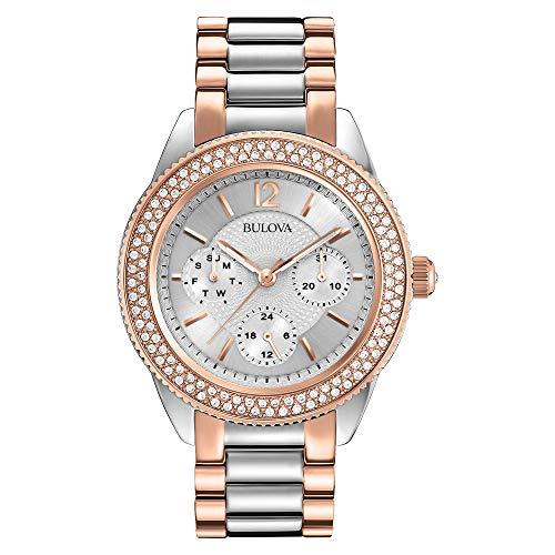 ブローバ 腕時計 レディース 98N100 【送料無料】Bulova Women's 98N100 Multi-Function Crystal Bracelet Watchブローバ 腕時計 レディース 98N100