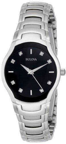 ブローバ 腕時計 レディース 96P146 【送料無料】Bulova Women's 96P146 Diamond-Dial Watch in 銀 Toneブローバ 腕時計 レディース 96P146