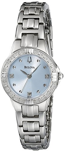 ブローバ 腕時計 レディース 96R172 【送料無料】Bulova Women's Women's Women's 96R172 Diamond Case Watchブローバ 腕時計 レディース 96R172 624