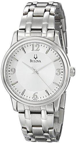 ブローバ 腕時計 メンズ 96A000 【送料無料】Bulova 96?A000???Wristwatch Men's, Stainless Steel Silver Strapブローバ 腕時計 メンズ 96A000