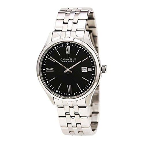 ブローバ 腕時計 メンズ 43B144 【送料無料】Bulova Men's Quartz Watch with Stainless-Steel Strap, Silver, 9 (Model: 43B144)ブローバ 腕時計 メンズ 43B144