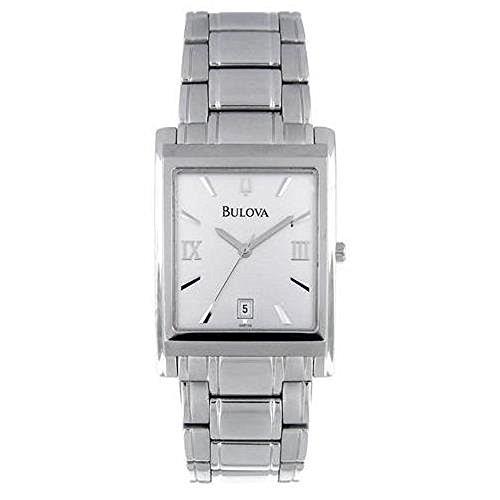 ブローバ 腕時計 メンズ 96B108 Bulova Men's 96B108 Stainless Steel Bracelet Silver Dial Watchブローバ 腕時計 メンズ 96B108