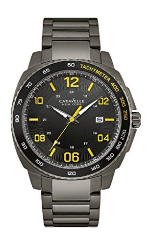 ブローバ 腕時計 メンズ 45B143 Caravelle New York Men's Quartz Stainless Steel Dress Watch (Model: 45B143)ブローバ 腕時計 メンズ 45B143