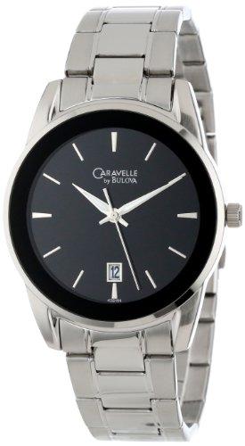 腕時計 ブローバ メンズ 43B114 【送料無料】Caravelle by Bulova Men's 43B114 Bracelet Stainless Steel Watch腕時計 ブローバ メンズ 43B114