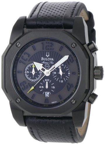 ブローバ 腕時計 メンズ 98B151 【送料無料】Bulova Men's 98B151 Marine Star Black on Black Color Scheme Watchブローバ 腕時計 メンズ 98B151
