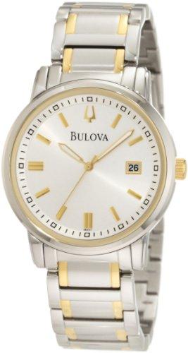 ブローバ 腕時計 メンズ 98B157 Bulova Men's 98B157 Highbridge Classic Two-Tone Watchブローバ 腕時計 メンズ 98B157