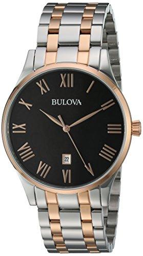 """ブローバ 腕時計 メンズ 98B279 【送料無料】Bulova Men""""s Quartz Stainless Steel Dress Watch, Color:Two Tone (Model: 98B279)ブローバ 腕時計 メンズ 98B279"""