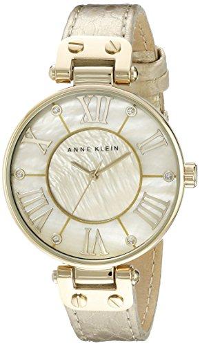 腕時計 アンクライン レディース AK/1012GMGD 【送料無料】Anne Klein Women's AK/1012GMGD Leather Gold-Tone Snake Print Watch腕時計 アンクライン レディース AK/1012GMGD