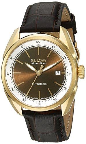 ブローバ 腕時計 メンズ 64B127 【送料無料】Bulova Men's Stainless Steel and Brown Leather Automatic Watch (Model: 64B127)ブローバ 腕時計 メンズ 64B127