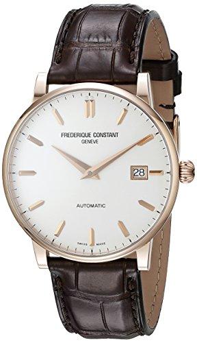 フレデリックコンスタント フレデリック・コンスタント 腕時計 メンズ FC-316V5B9 Frederique Constant Men's FC316V5B9 Slim Line Swiss Automatic Watch With Brown Leather Bandフレデリックコンスタント フレデリック・コンスタント 腕時計 メンズ FC-316V5B9