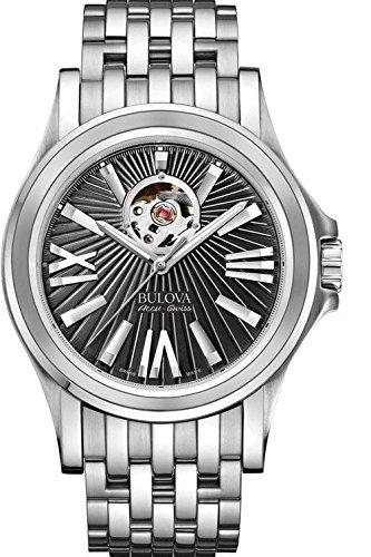 ブローバ 腕時計 メンズ 63A126 【送料無料】Men's Bulova AccuSwiss Kirkwood Black Dial Watchブローバ 腕時計 メンズ 63A126