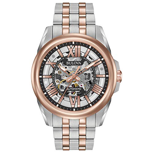 ブローバ 腕時計 メンズ 98A166 【送料無料】Bulova Men's Automatic-self-Wind Watch with Stainless-Steel Strap, Multi (Model: 98A166)ブローバ 腕時計 メンズ 98A166