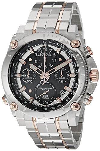 """ブローバ 腕時計 メンズ 98B256 【送料無料】Bulova Men""""s 98B256 Precisionist Analog Quartz Two Tone Stainless Steel Watchブローバ 腕時計 メンズ 98B256"""